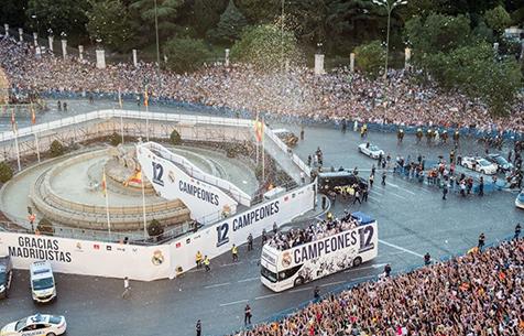 """Marca и COPE: """"Мадрид"""" намерен перенести празднование в случае победы в Ла Лиге"""
