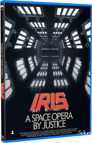 IRIS - A Space Opera by Justice (2019, Blu-ray)