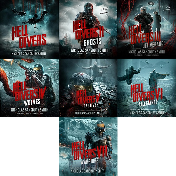 The Hell Divers Series Book 1-7 - Nicholas Sansbury Smith