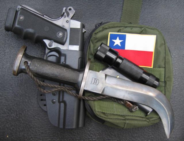 "Боевой ""сучкорез"": чилийский нож «Корво»"