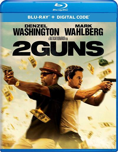 Два ствола / 2 Guns (2013) BDRip [H.265 / 1080p] [10-bit]