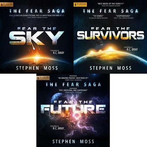 The Fear Saga Series Book 1-3 - Stephen Moss