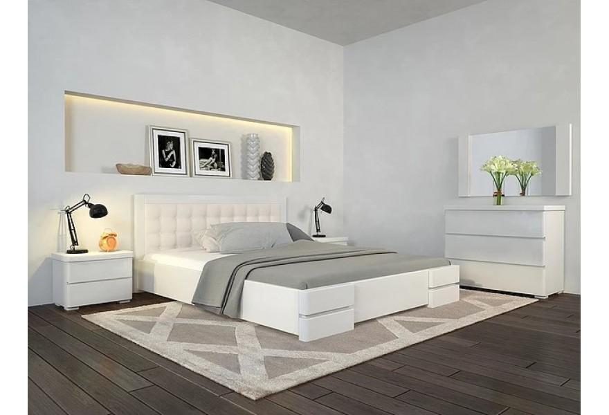 Преимущества двуспальных кроватей из дерева
