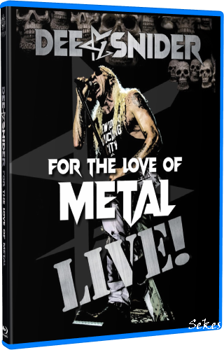 Dee Snider - For The Love Of Metal Live (2020, Blu-ray)