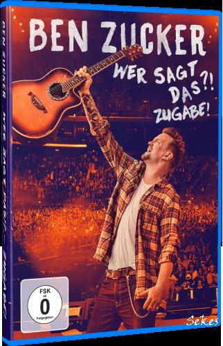 Ben Zucker - Wer sagt das?! Zugabe! (2020, Blu-ray)