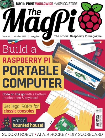 The MagPi - Issue 98 (October) 2020