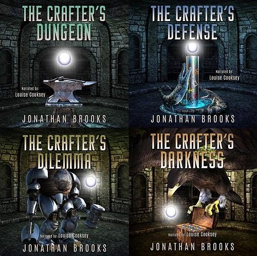 Dungeon Crafting Series Book 1-4 - Jonathan Brooks