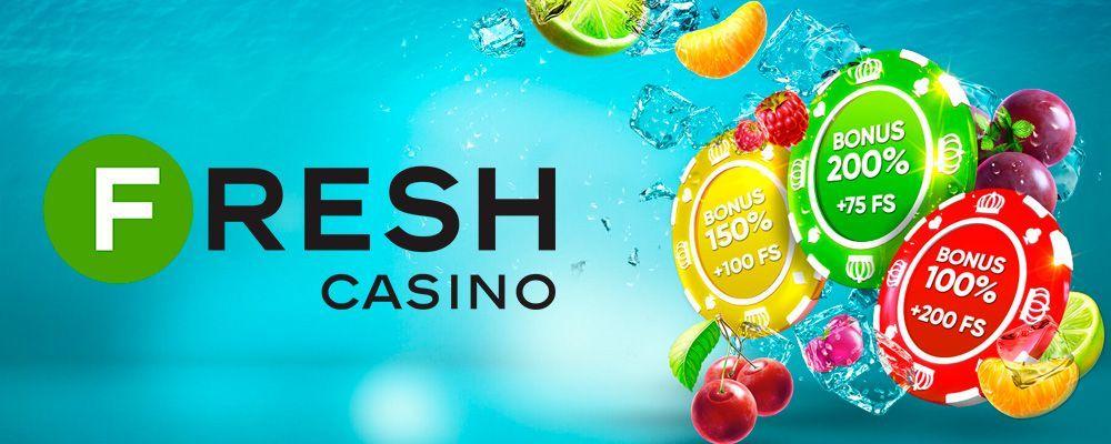 Мобильная версия Casino Fresh