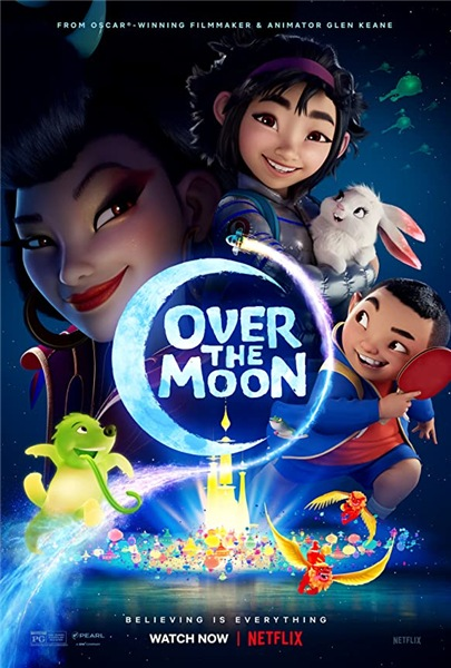Путешествие на Луну / Over the Moon (2020) WEB-DL 1080p | Невафильм