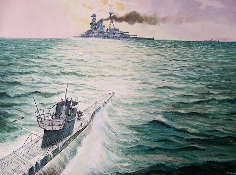 Разорванный на куски: как погиб британский линкор «Бархэм»