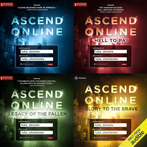Ascend Online Series Book 1-4 - Luke Chmilenko