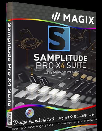 MAGIX Samplitude Pro X4 Suite 15.4.1.645 [2020,Multi/Ru]
