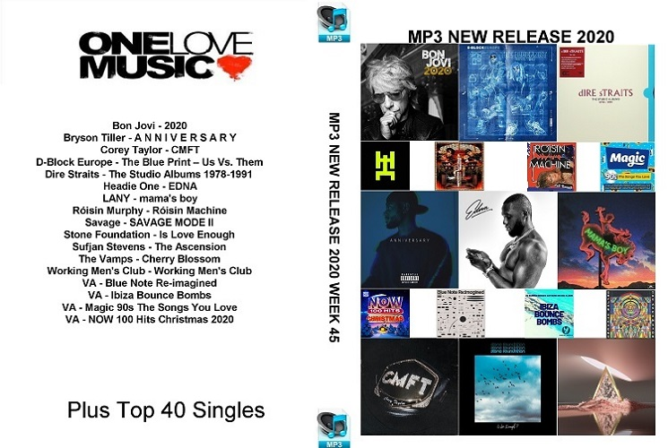 MP3 NEW RELEASES 2020 WEEK 45