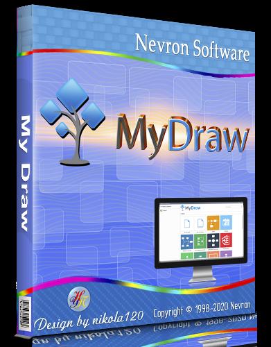 MyDraw 5.0.1 RePack (& Portable) by elchupacabra [2020,Multi/Ru]