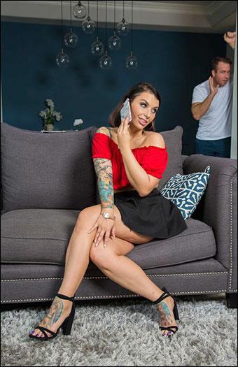 Ivy LeBelle - Kassandra Kelly (Ivy LeBelle) fucks her man's friend (2019) SiteRip |