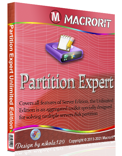 Macrorit Partition Expert 5.6.0 Unlimited Edition RePack (& Portable) by elchupacabra [2021 Ru/En]