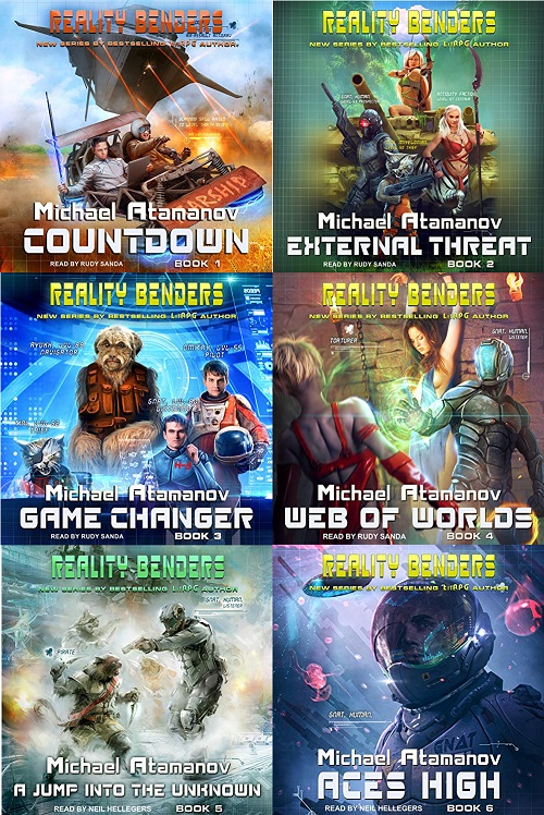 Reality Benders Series Books 1-6 - Michael Atamanov