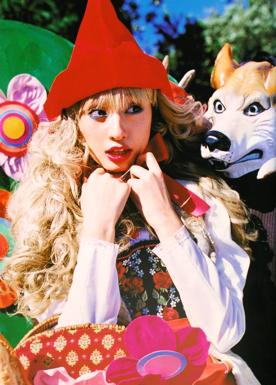 Chiaki Kuriyama, Little Red Riding Hood, Princess photobook [PH210112085109]