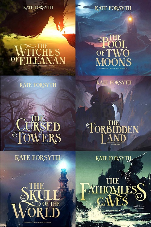 The Witches of Eileanan Series Books 1-6 - Kate Forsyth