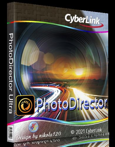 CyberLink PhotoDirector Ultra 12.1.2512 RePack by PooShock [2021,Multi/Ru]