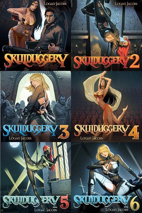 Skulduggery Series Books 1-6 - Logan Jacobs