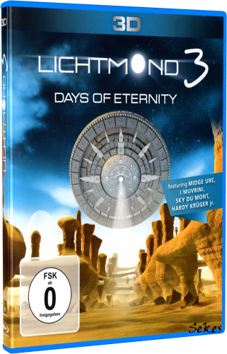 Lichtmond - Lichtmond 3 Days of Eternity (2014, 3D Blu-ray)