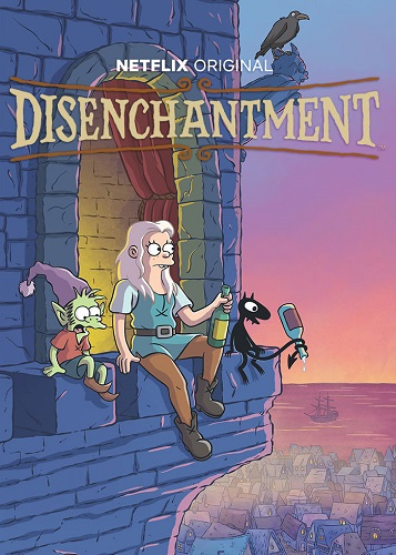 Разочарование / Disenchantment [S01-03] (2018-2021) UHD WEBRip 2160p | 4K | SDR | Пифагор