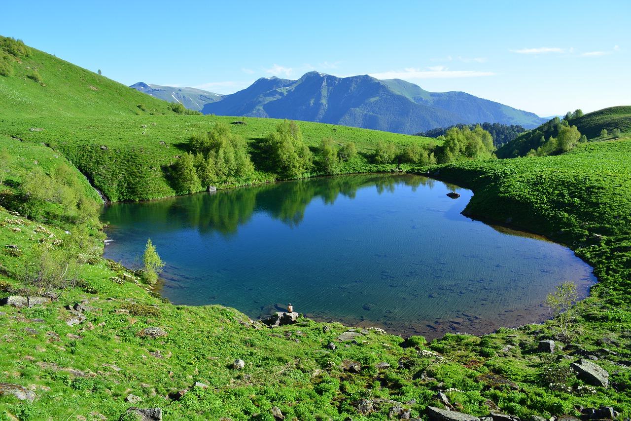 Весна в предгорье Кавказа