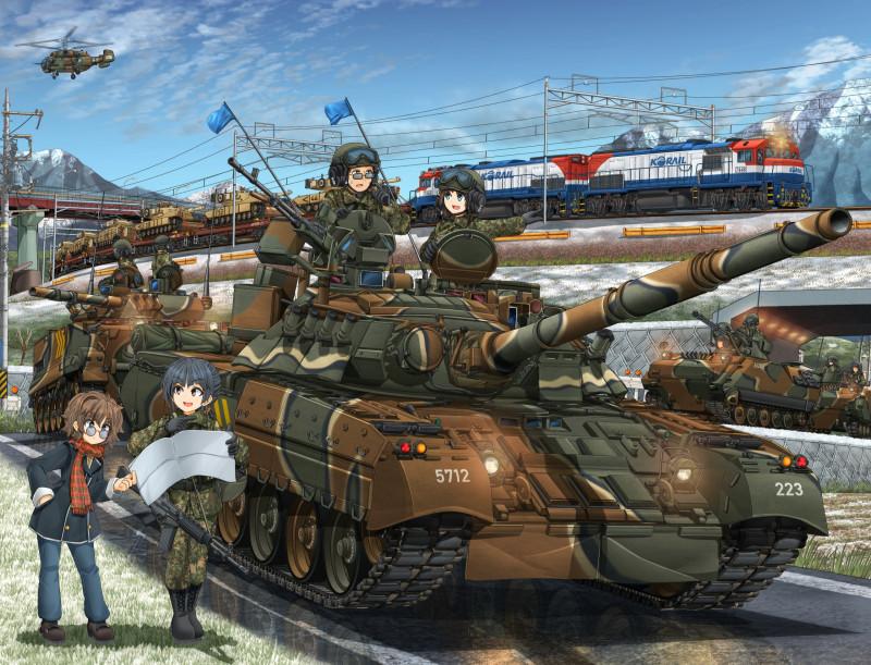 Советский Т-80 в Южной Корее: танки за долги