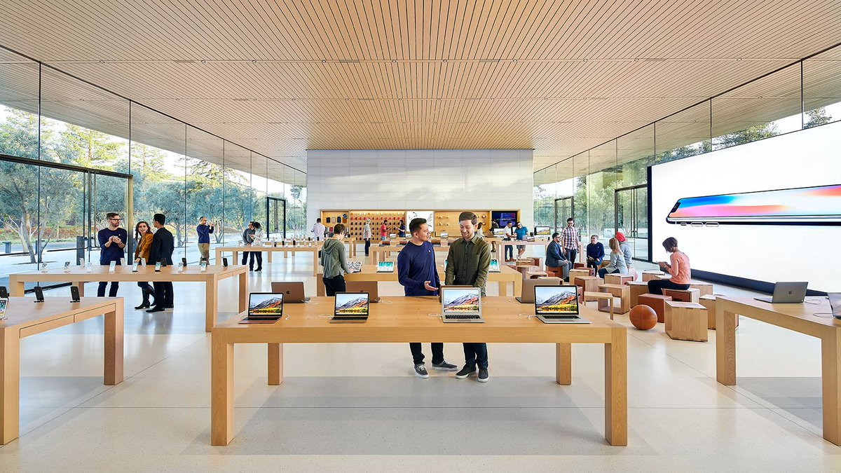 Apple Store в Калифорнии