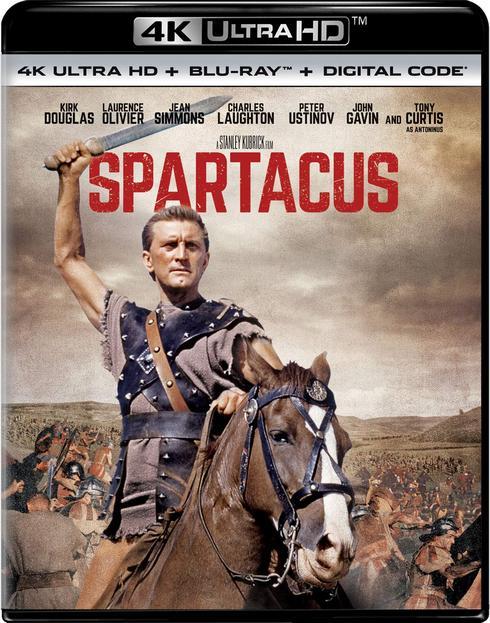 Спартак / Spartacus (1960) UHD BDRemux 2160p | 4K | HDR | Dolby Vision Profile 8