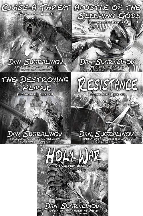 Disgardium Series Book 1-5 - Dan Sugralinov