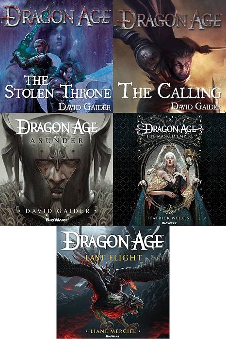Dragon Age Series Book 1-5 - David Gaider