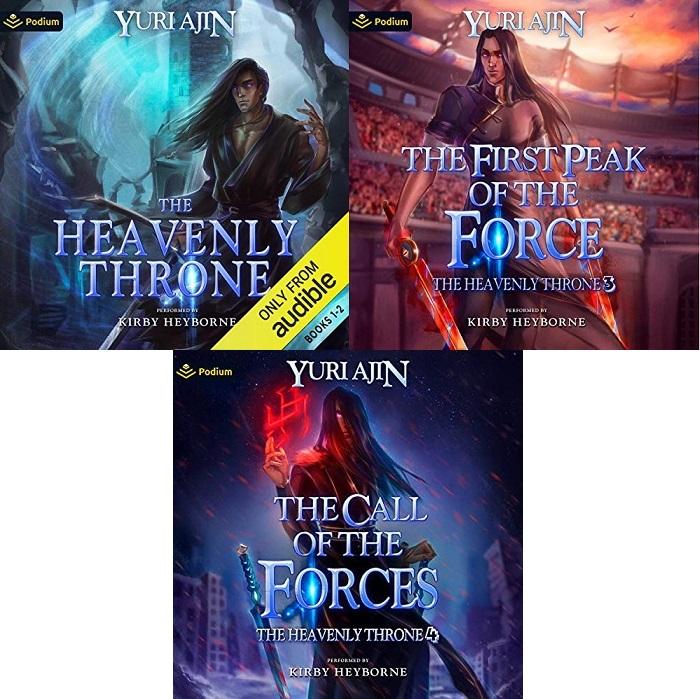 The Heavenly Throne Book 1-4 - Yuri Ajin