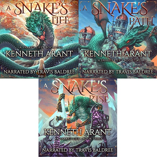 A Snake's Life Series Book 1-3 - Kenneth Arant