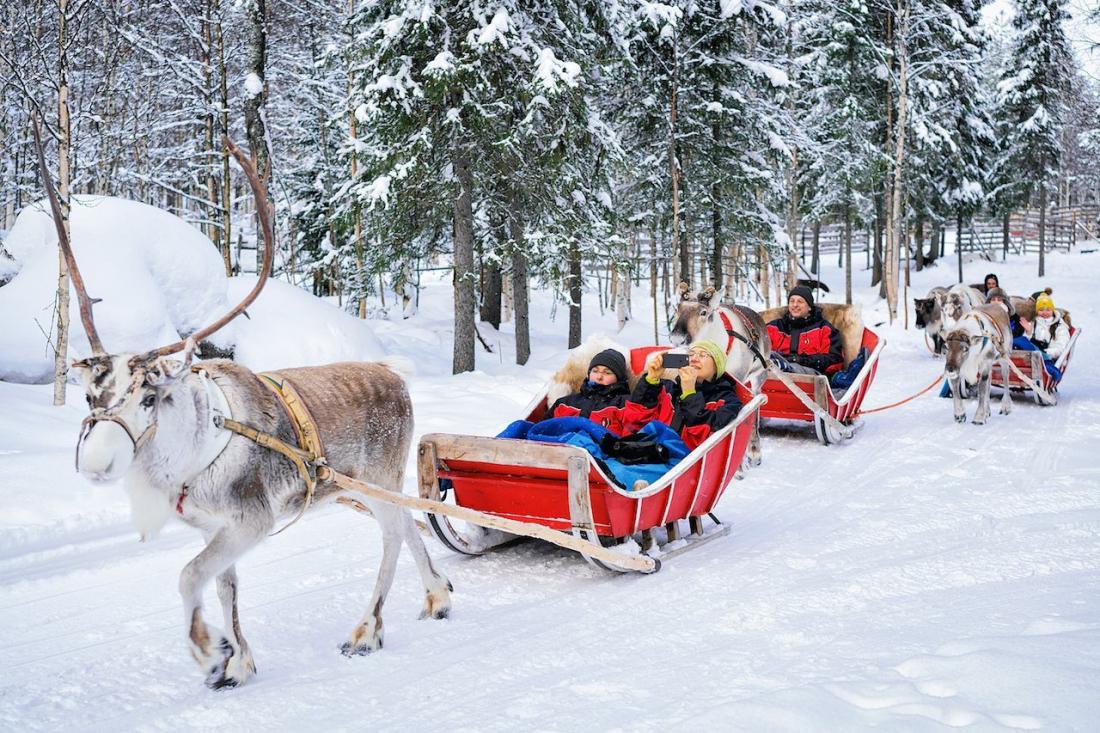 Снять коттедж зимой в Финляндии