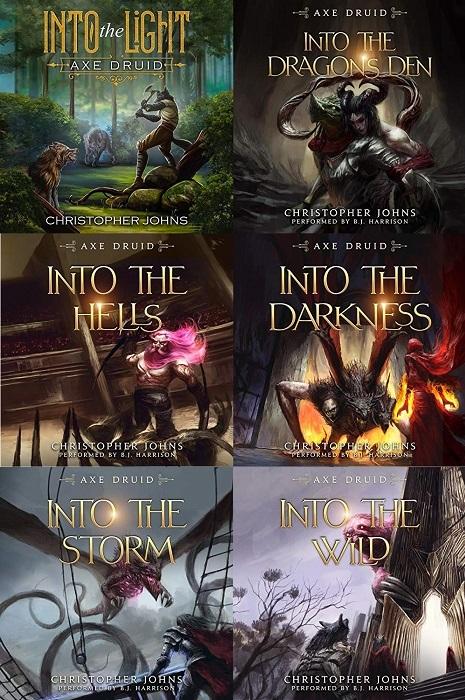 Axe Druid Series Book 1-6 - Christopher Johns