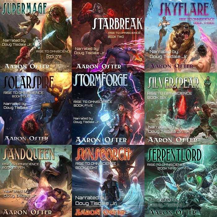 Rise to Omniscience Series Book 1-9 - Aaron Oster