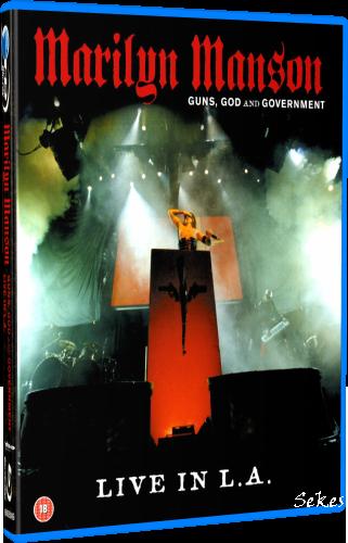 Marilyn Manson - Guns, God and Government (2002, Blu-ray)