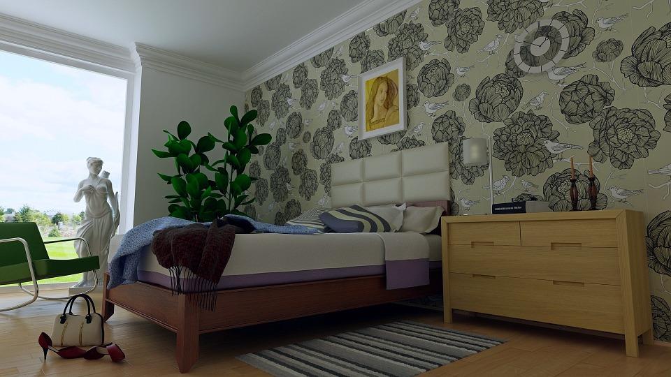 Как выбрать обои в спальню: основные критерии   1