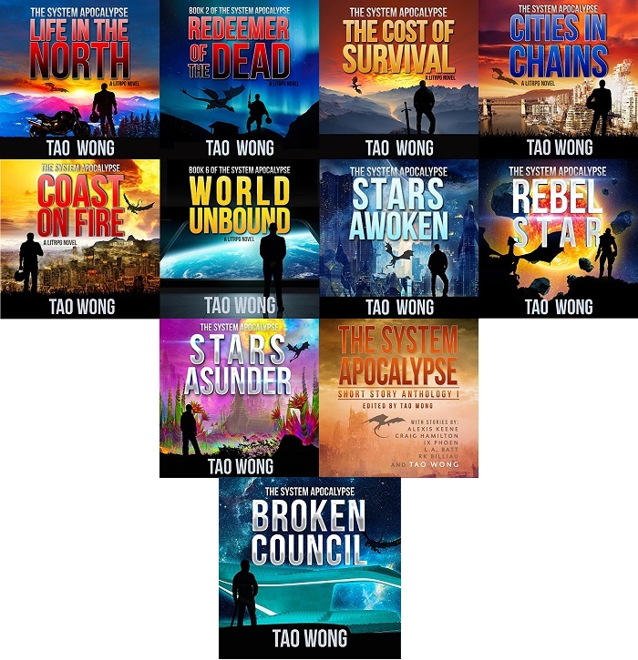 The System Apocalypse Series Books 1-11 - Tao Wong