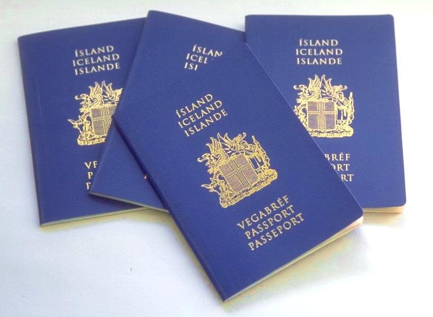 Исландский паспорт, который могут получить русские