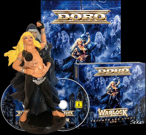 Doro - Warlock - Triumph And Agony Live (2021, BDRip 1080p)