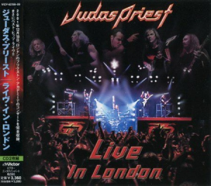 Judas Priest - Live In London (Japanese Edition) 2CD (2003)