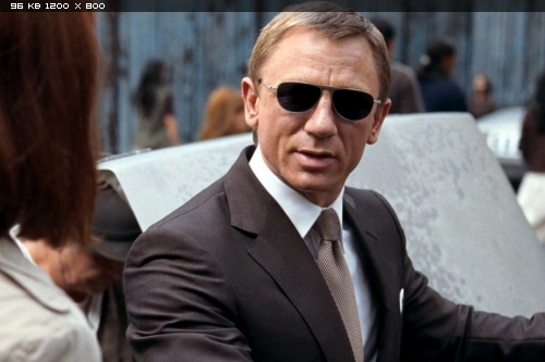 Quantum of Solace Sunglasses (Indy Magnoli PLEASE ) (Page ...