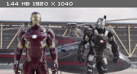 Первый мститель: Противостояние / Captain America: Civil War (2016) BDRip 1080p от New-Team | IMAX Edition | iTunes, P