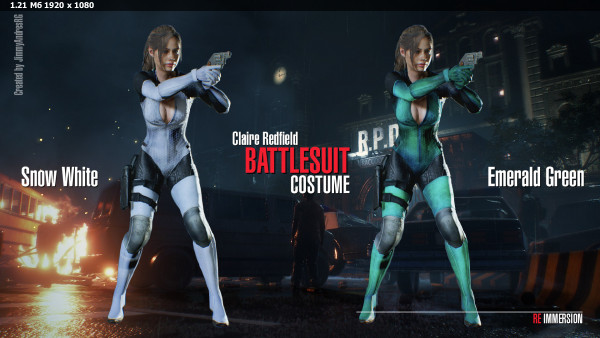 Claire Redfield Battlesuit Costume V1.3 A289c9afee5320532fa35b36aa40a7fd